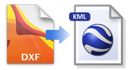 Dxf kml for Kmz to dxf